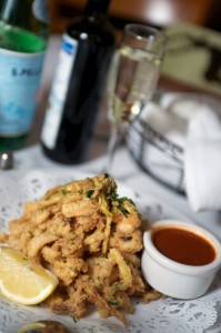 Lightly battered Fritto Misto with tangy marinara sauce for dipping Rich Schmitt/Staff Photographer