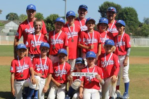 Palisades Blue players with their championship medals after the District 2 tournament. / Photo: Michelle Gurevitch