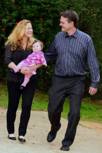 Jim Cragg, wife Dr. Susan Marusak and daughter Charley, live in Marquez Knolls. Rich Schmitt/Staff Photographer