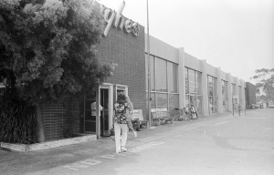 This image of Hughes market from 1973 offers an idea of what it may have looked like on the day Rachel Ziselman bought groceries before disappearing. Photo: Palisadian-Post archive