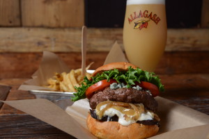 "Billed as a ""New-Age burger stand,"" Haché LA offers gourmet burgers like the Roaring '40s, Mick's Triple Cooked Fries and an extensive beer and wine list. Photo courtesy of Haché LA"