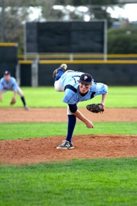 Pali High's Jed Moscot was named Pitcher of the Year in the Western League and earned All-City Division I honors. Photo: Steve Galluzzo