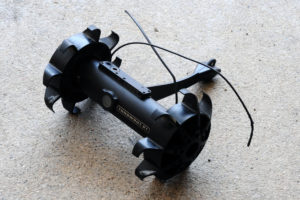 A remote control robot with camera that SWAT officers use during hostile situations Rich Schmitt/Staff Photographer